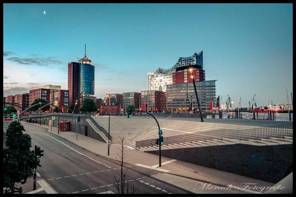 sonnenaufgang-am-ueberseeboulevard-murach-fotografie